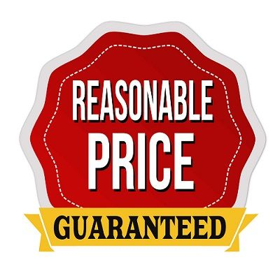 reasonable price guaranteed